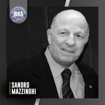 Adiós a Sandro Mazzinghi