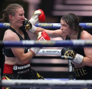 Katie Taylor reaffirmed the absolute Lightweight championship