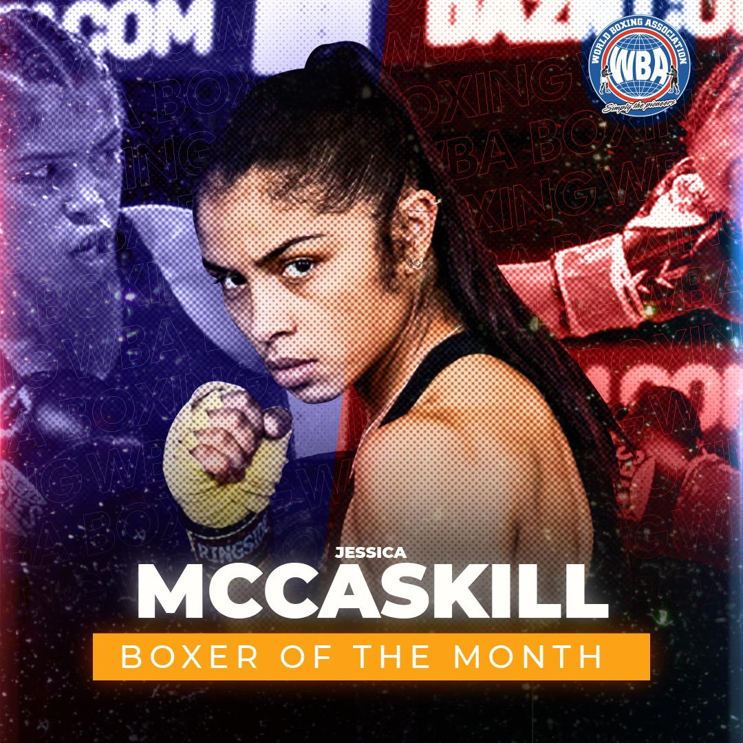 Jessica McCaskill and Katie Taylor were awarded in August by the WBA