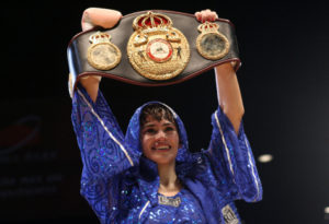 "Argentina's number one WBA Champion: Marcela ""La Tigresa"" Acuña"