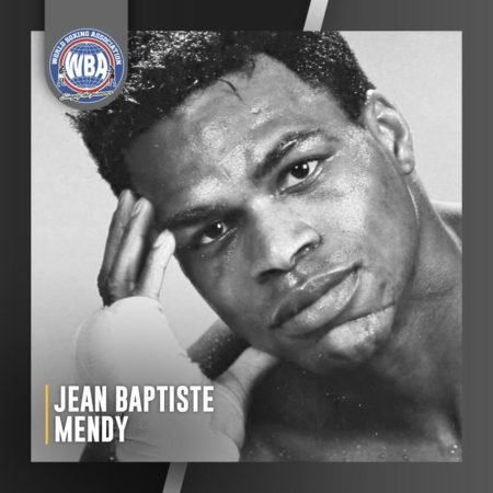 The WBA mourns the death of Jean Baptiste Mendy