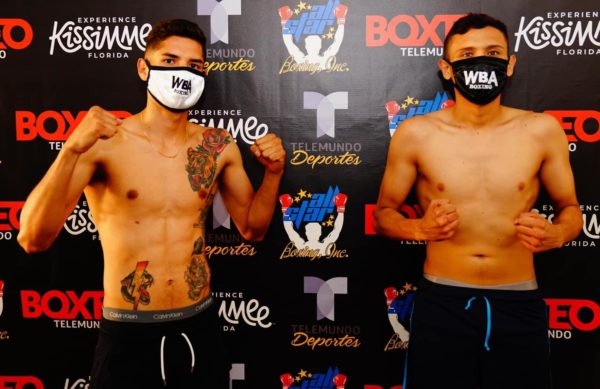 Antonio Morán and Luis Solís are ready for war in Kissimmee