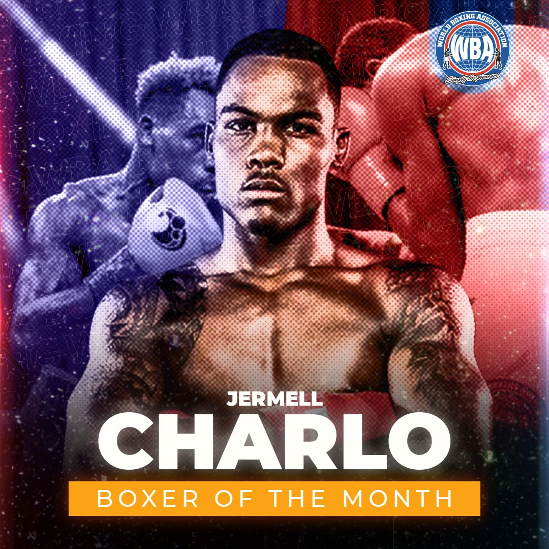 Jermell Charlo is the WBA Boxer of the Month