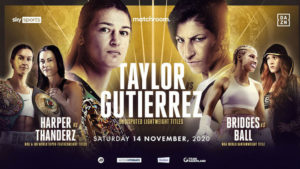 Taylor-Gutierrez will meet on November 14