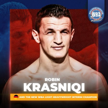 Krasniqi makes history as the first world champion born in Kosovo