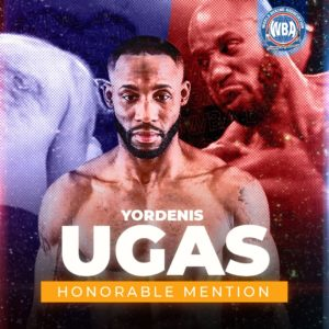 Yordenis Ugas– WBA Honorable Mention August 2020