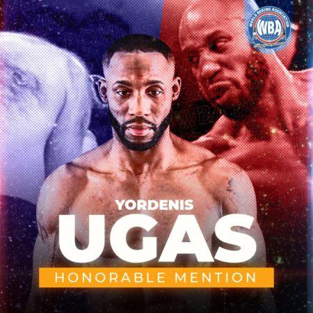 Yordenis Ugas–Mención honorífica AMB –Septiembre 2020