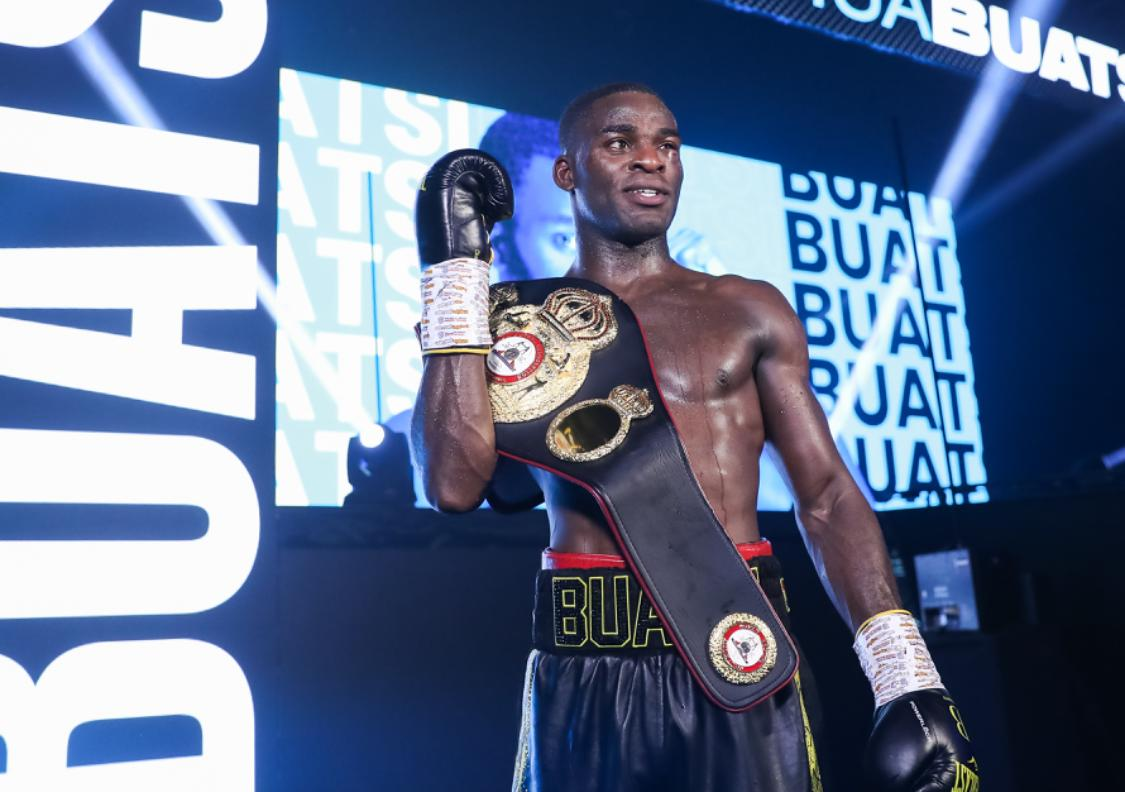 Buatsi retained his WBA-International belt with a KO to Calic