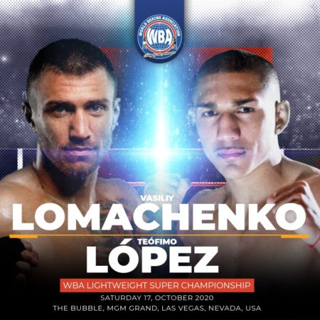 Lomachenko-Lopez ready for this Saturday's WBA Super Championship