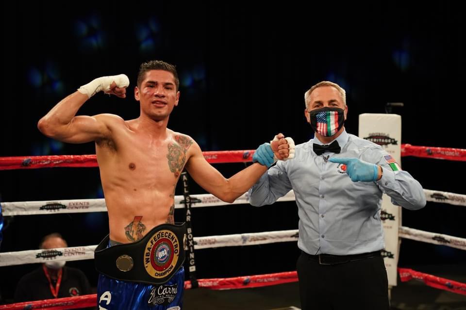 Morán demolished Colón and is the new WBA-Fedecentro champion