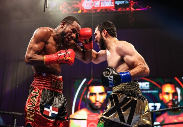 Martinez defeated Marrero in WBA elimination fight