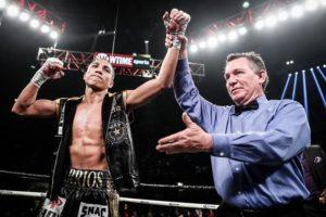 Barrios will defend his WBA title against Karl in the undercard of Davis-Santa Cruz