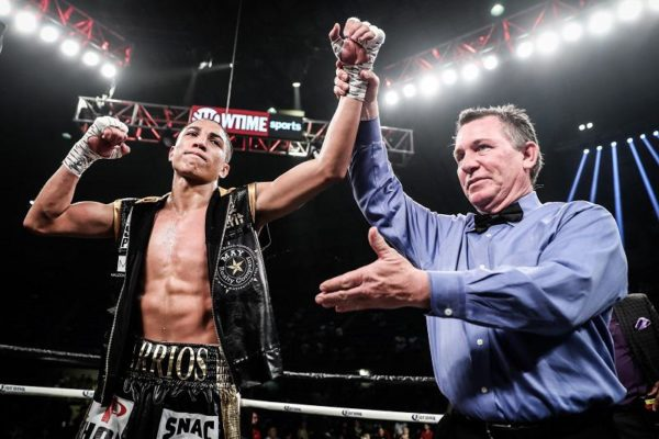 Barrios will defend his WBA title against Karl in the undercard of Davis-Santa Cruz