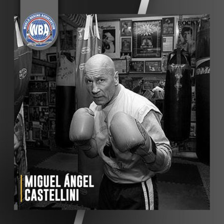 AMB lamenta fallecimiento de Miguel Ángel Castellini