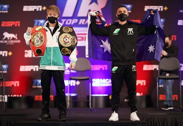 Inoue and Moloney ready in Las Vegas