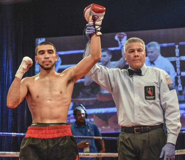 Martinez-Marrero will fight for the WBA eliminator this Saturday in Connecticut