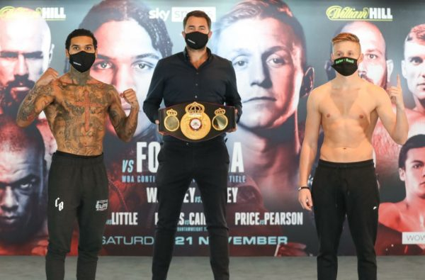 Benn and Formella made weight at Wembley