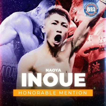 Naoya Inoue -WBA Honorable Mention October 2020