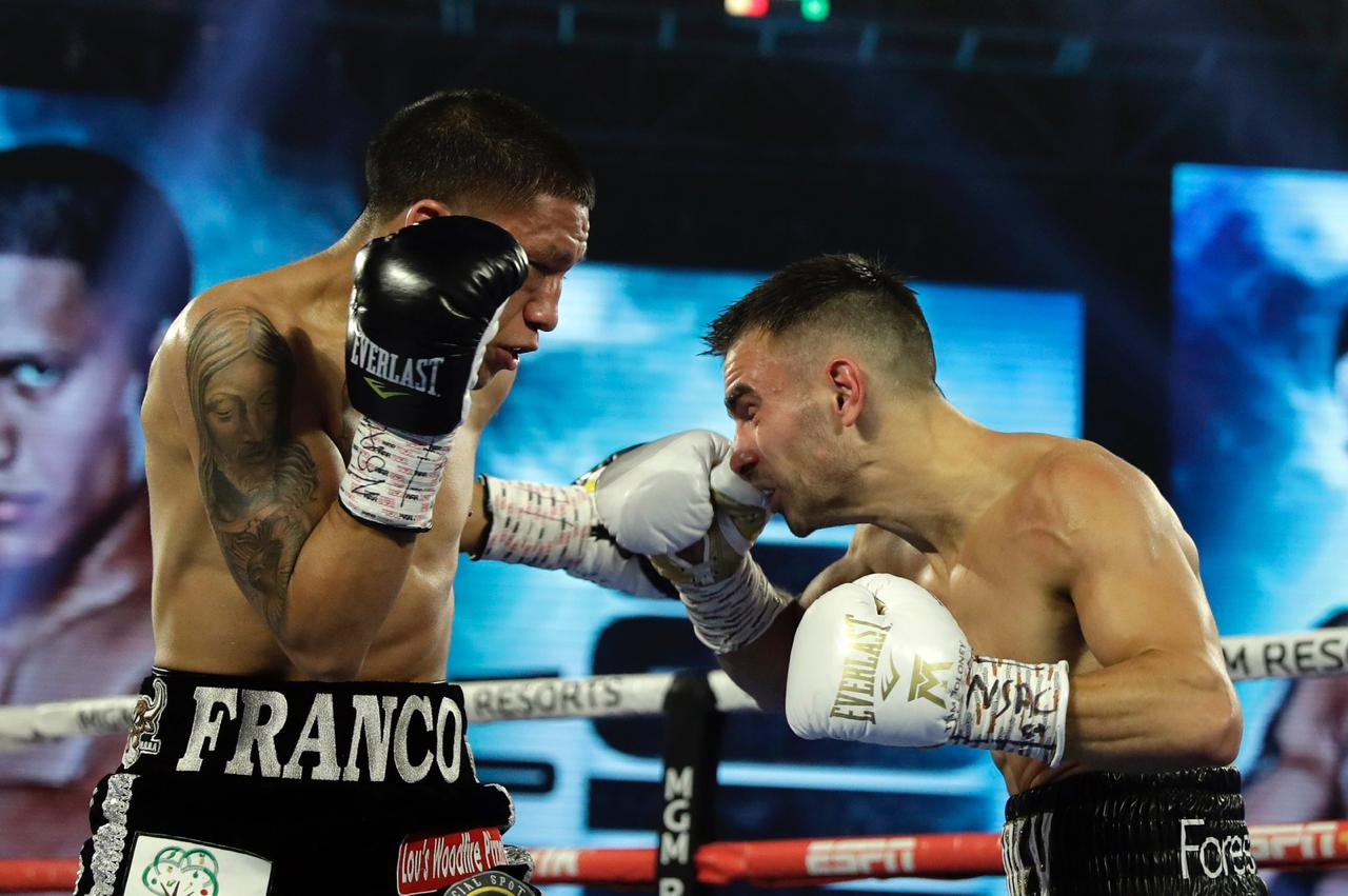 Franco-Moloney was ruled a No Decision in Las Vegas