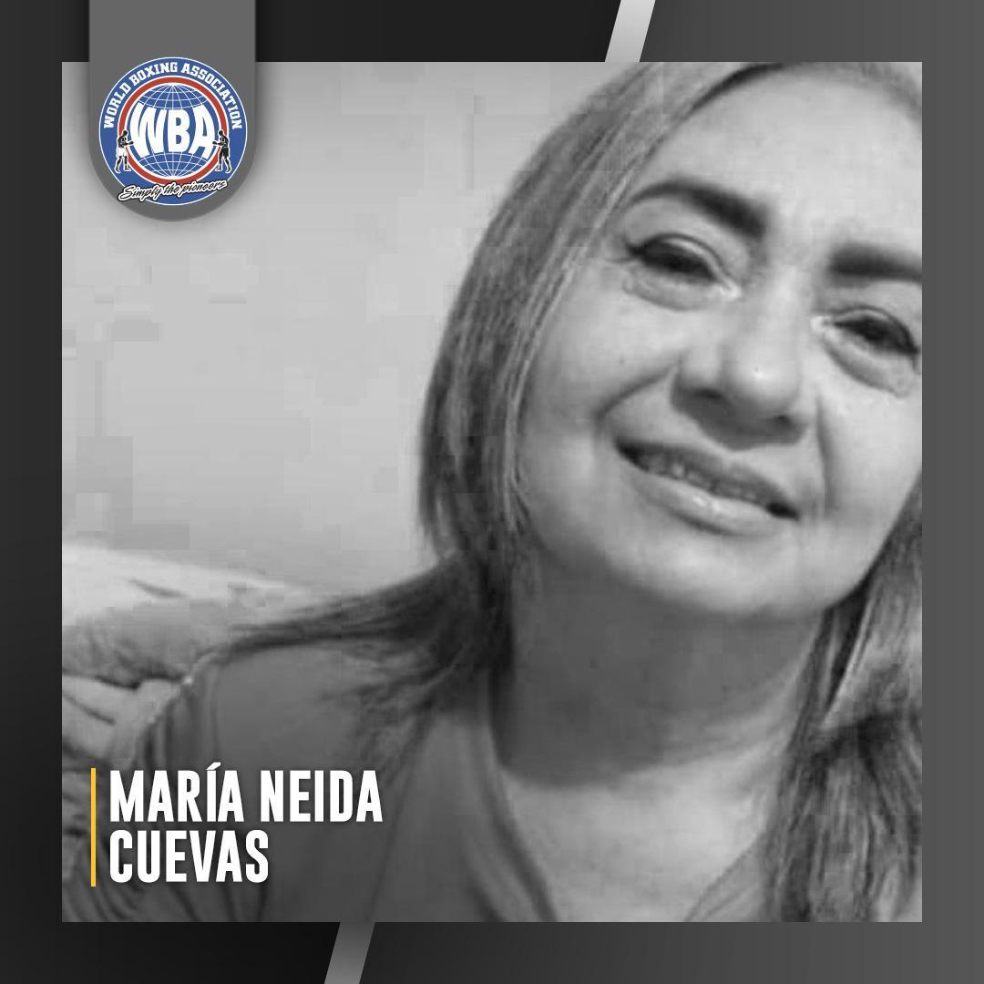 Que en paz descanse Maria Neida Cuevas