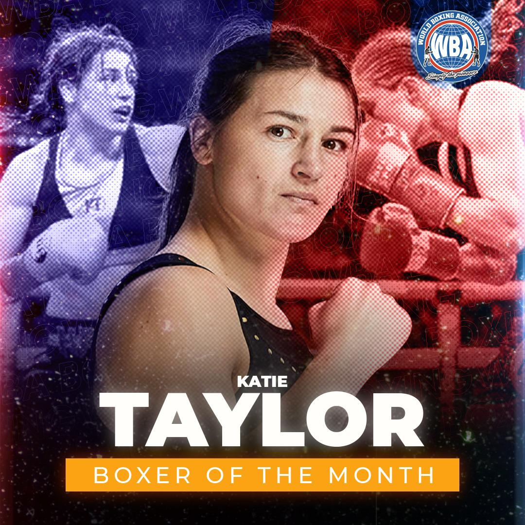 Katie Taylor is WBA Female Boxer of the Month