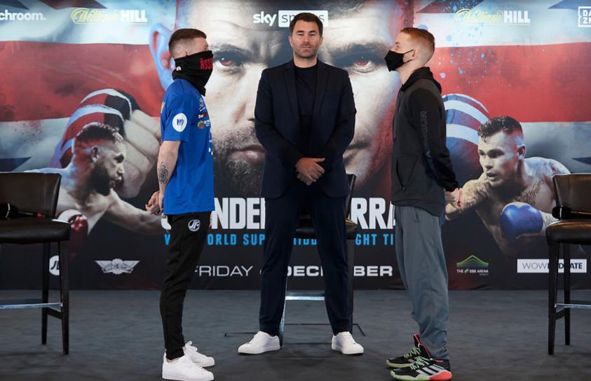 Tennyson and O'Reilly met before their WBA elimination fight this Friday