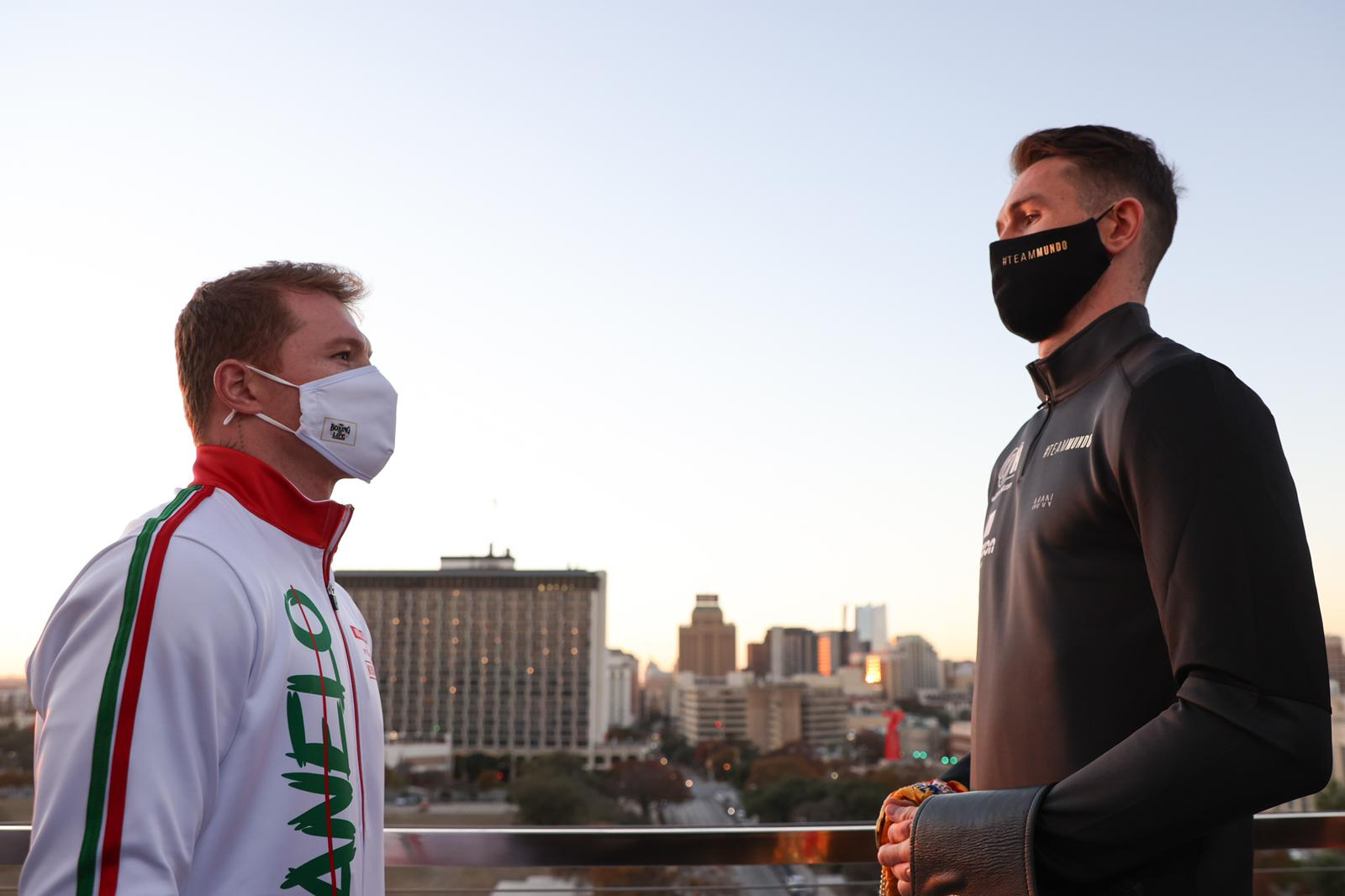 "The great difference in height: will this be Callum Smith's best weapon when facing ""Canelo"" Alvarez?"
