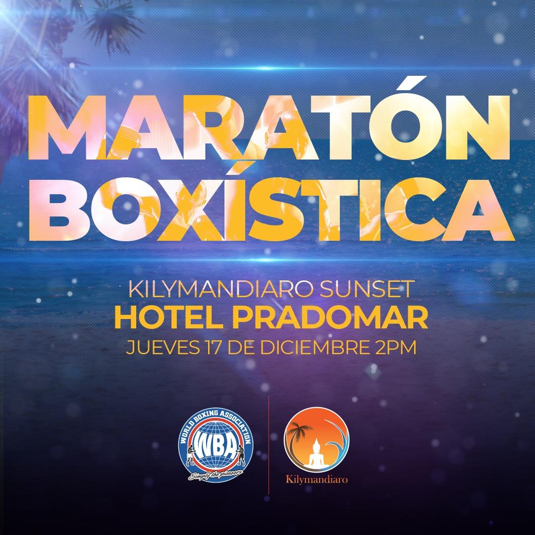 """""""Maratón Boxística"""" will be broadcast via streaming"""