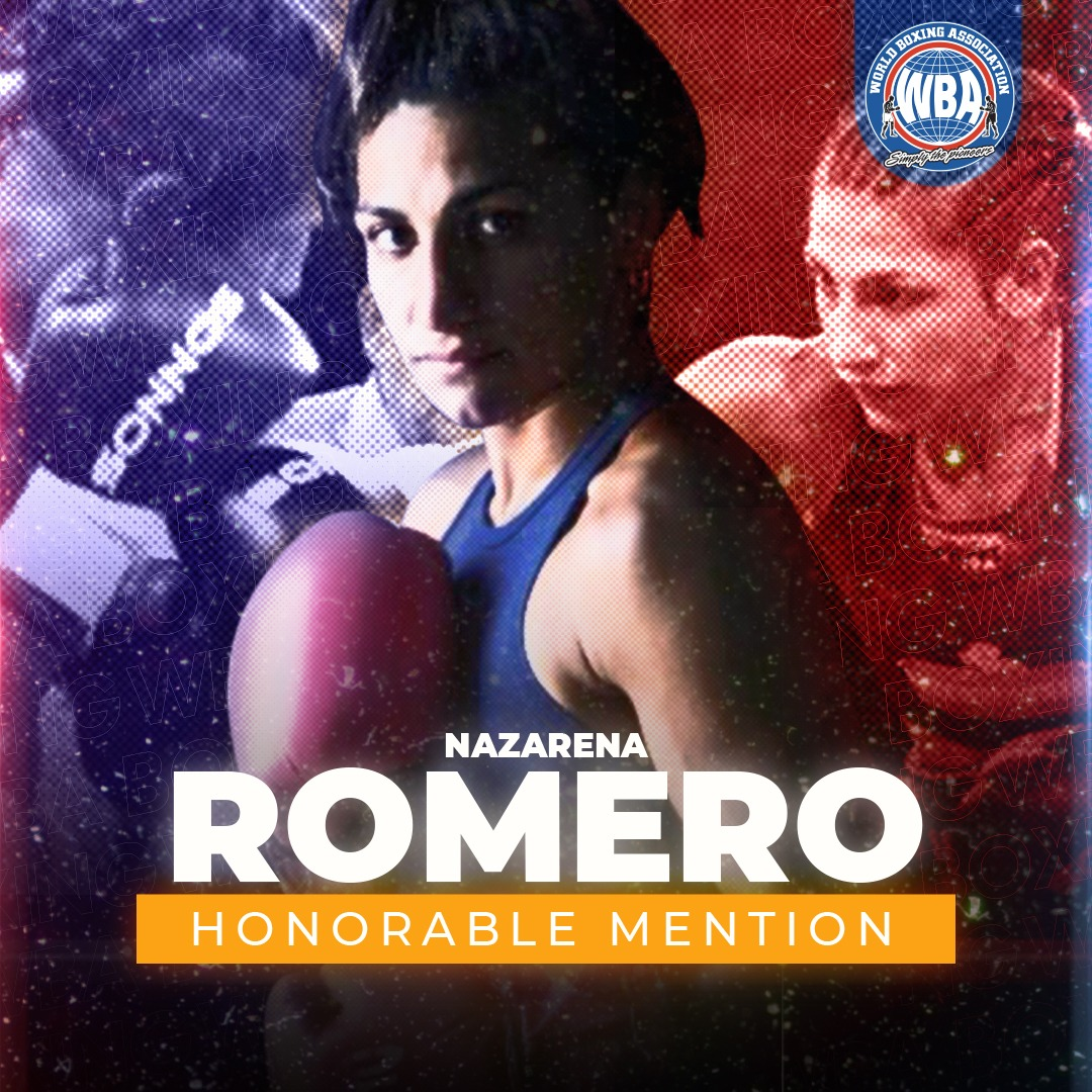 Nazarena Romero -WBA Honorable Mention December 2020