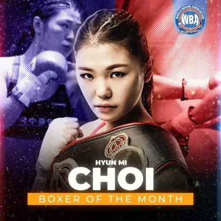 Hyun Mi Choi is WBA Female Boxer of the Month