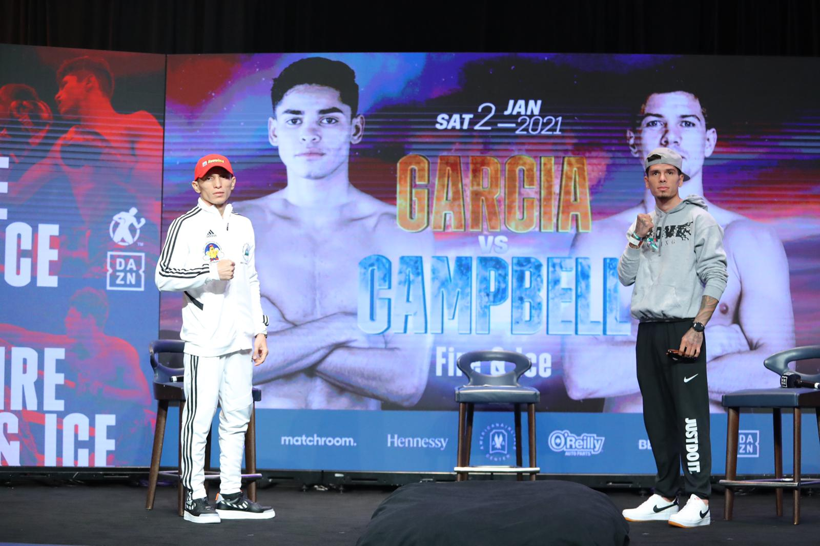 Alvarado and Gutiérrez ready for the first fight of the year 2021