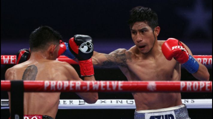 Ramírez knocked out Flores in WBA Featherweight eliminator