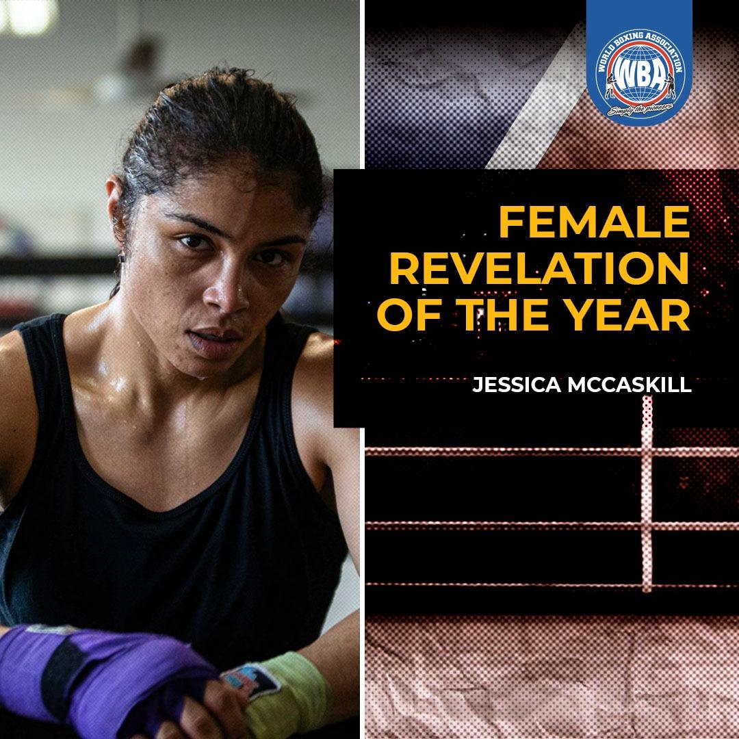 WBA grants the Female Revelation of the Year Award to Jessica McCaskill