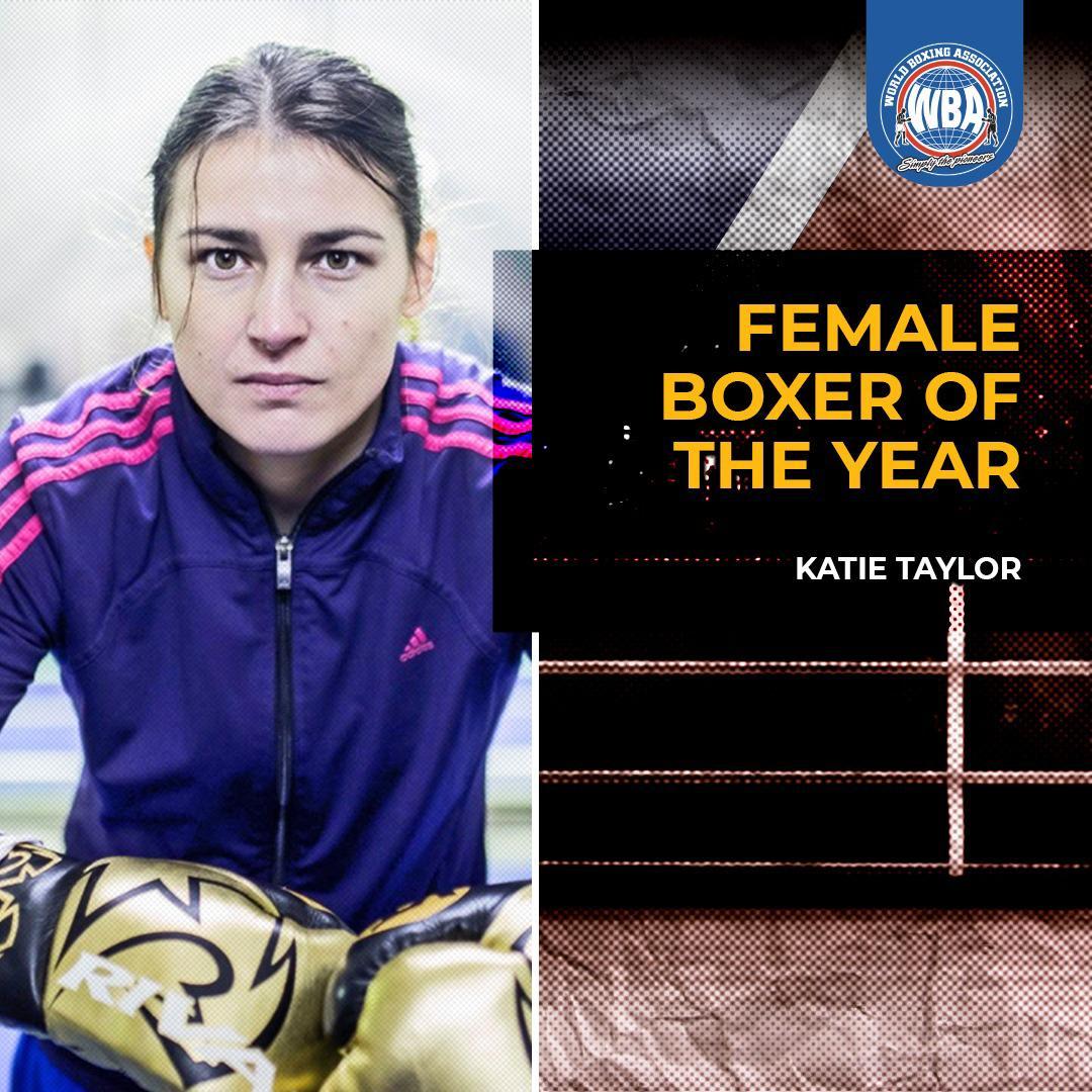 AMB designa a Katie Taylor Boxeadora del Año