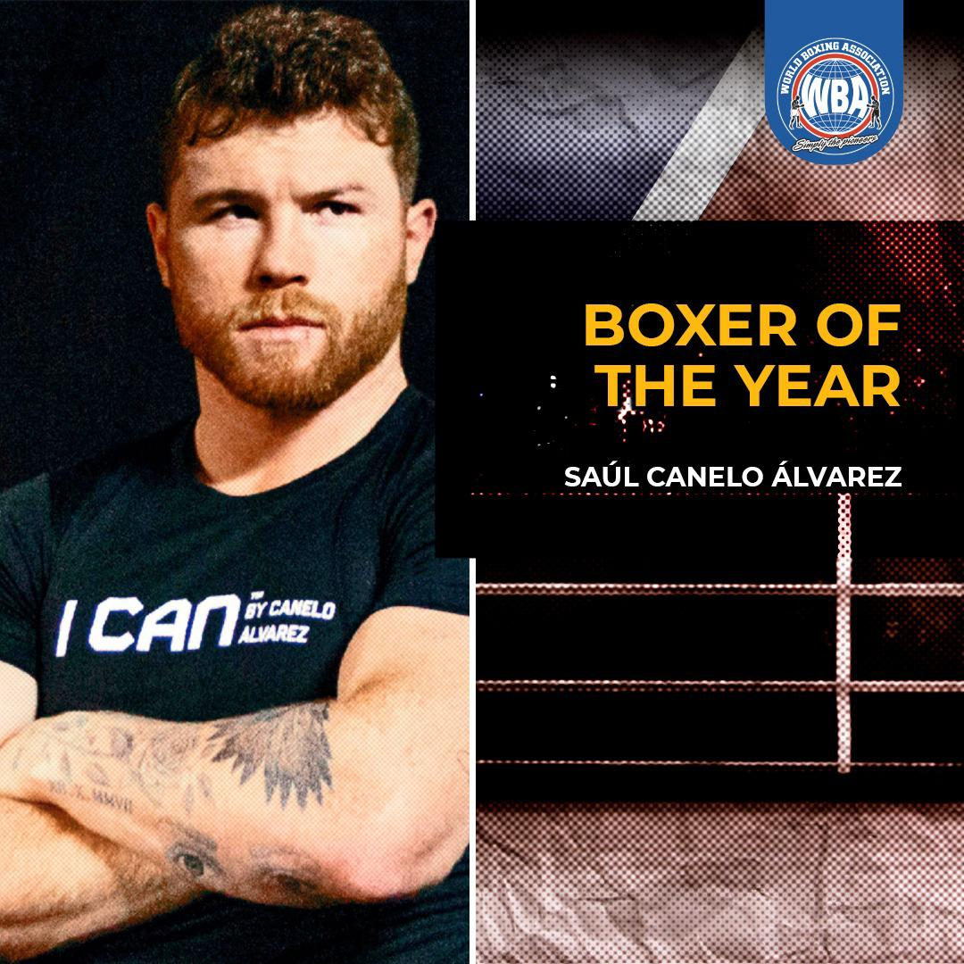 AMB premia a Canelo como Boxeador del Año