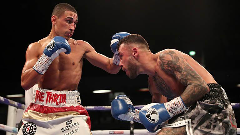 Gill wins WBA-International Featherweight title at Wembley Arena