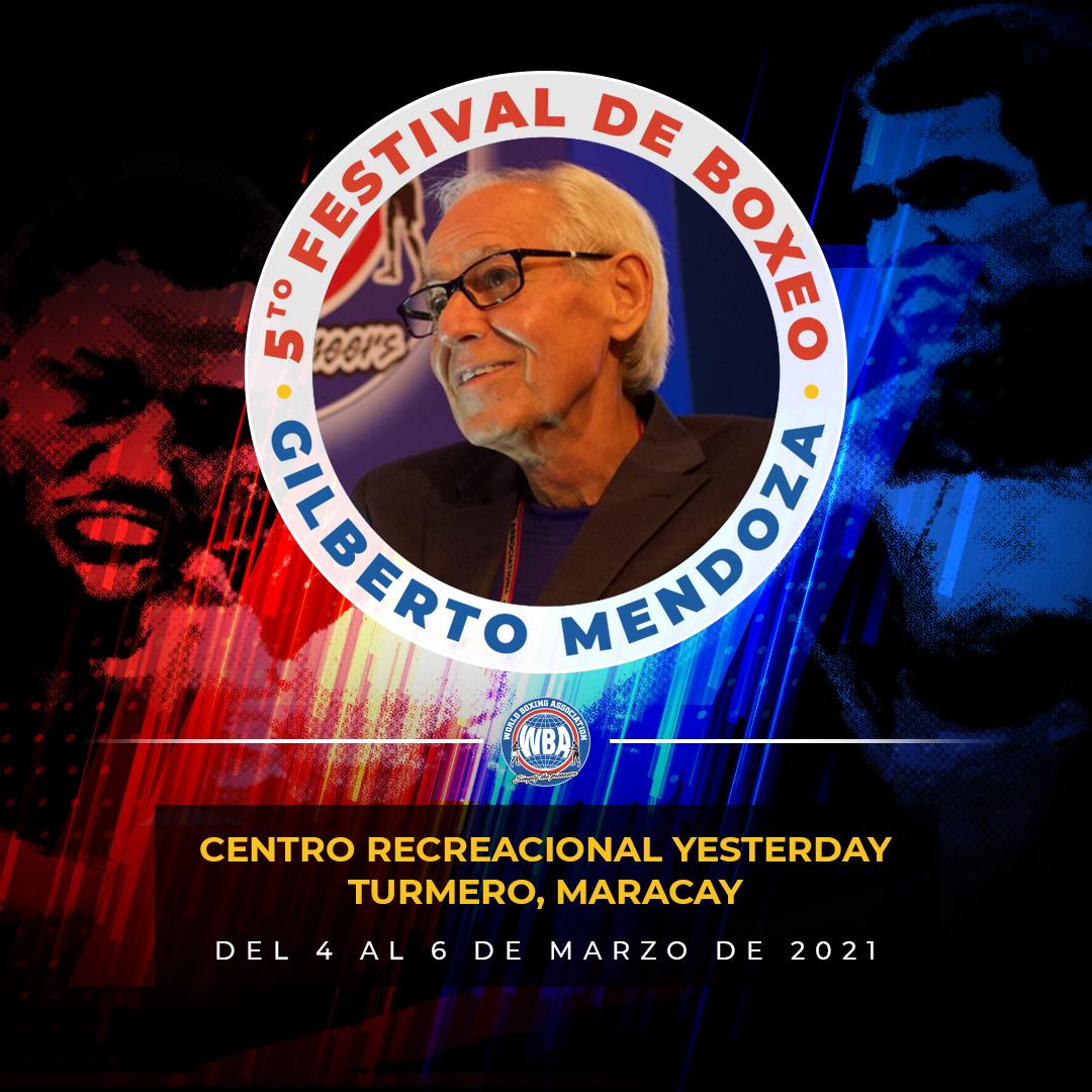 Retorna el boxeo a Venezuela con el Festival Gilberto Mendoza