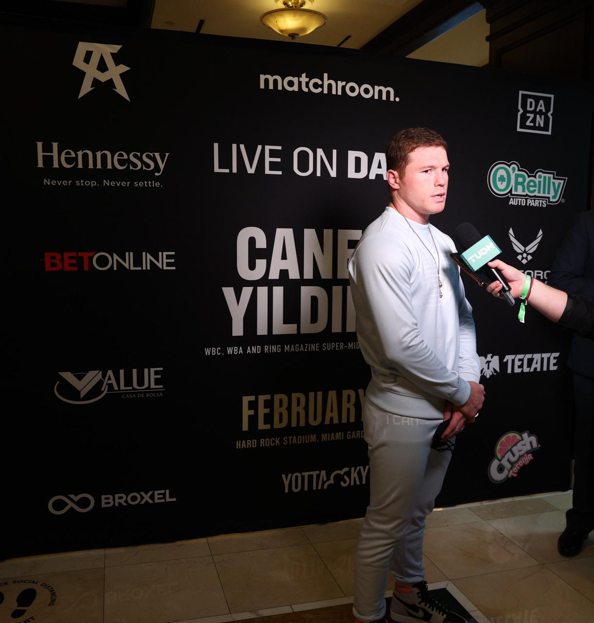 Canelo is happy to be back in Miami after 13 years