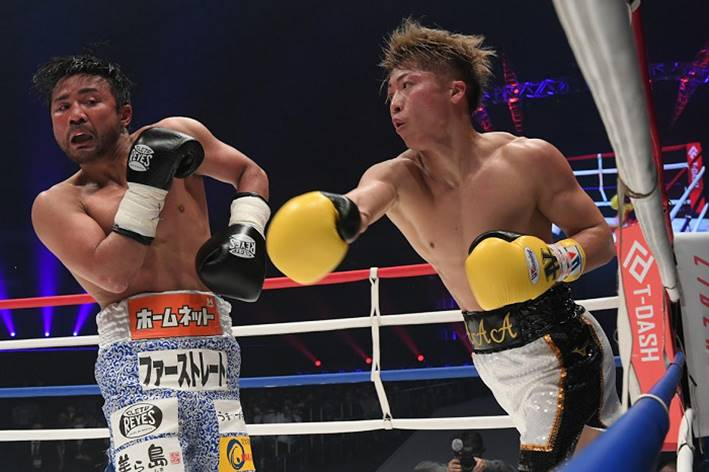 """Inoue put on a show at """"Legends"""" charity event"""