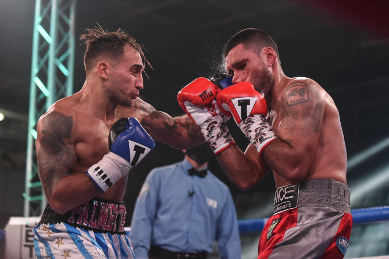 Palmetta defended his WBA-International title in a great boxing evening in Argentina