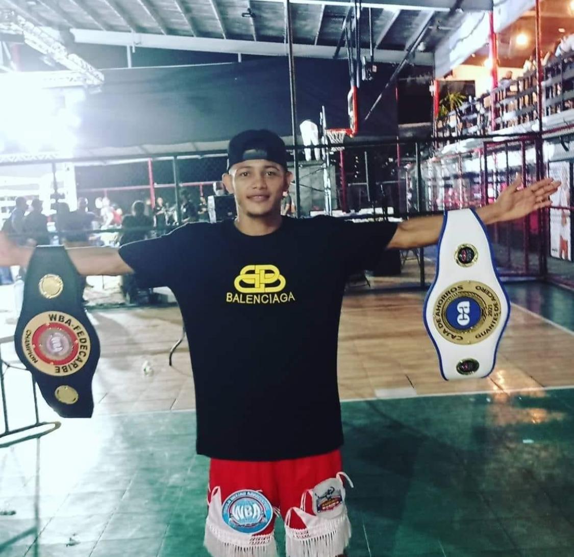 Galeano noqueó a De La Rosa y es nuevo campeón AMB-Fedecaribe