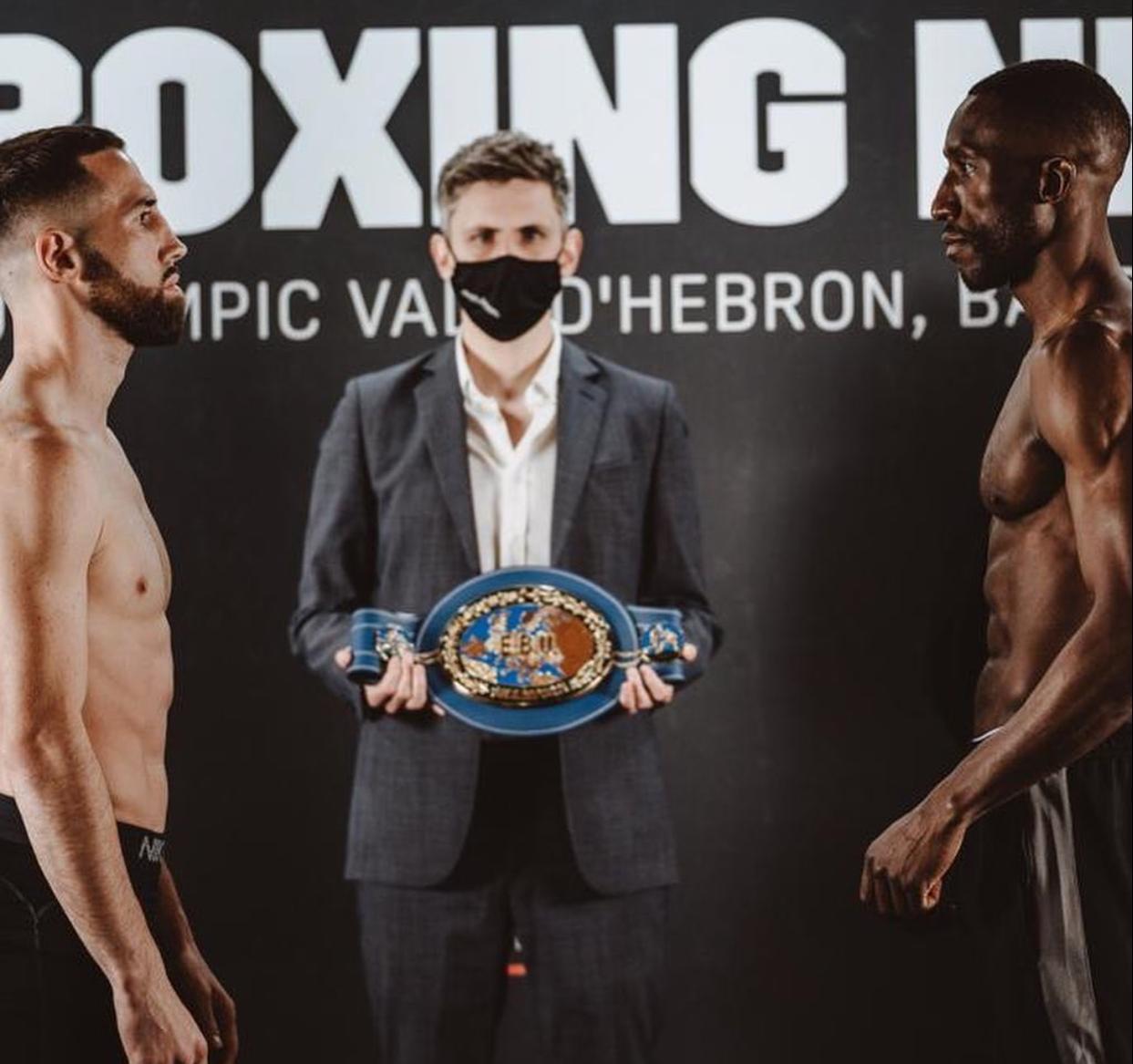 Sandor Martin ready to fight Kay Prospere in Barcelona