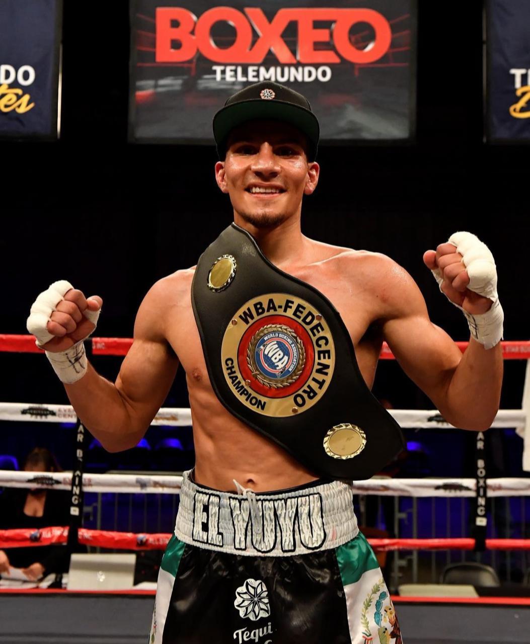 Acosta won the WBA-Fedecentro belt in Kissimmee