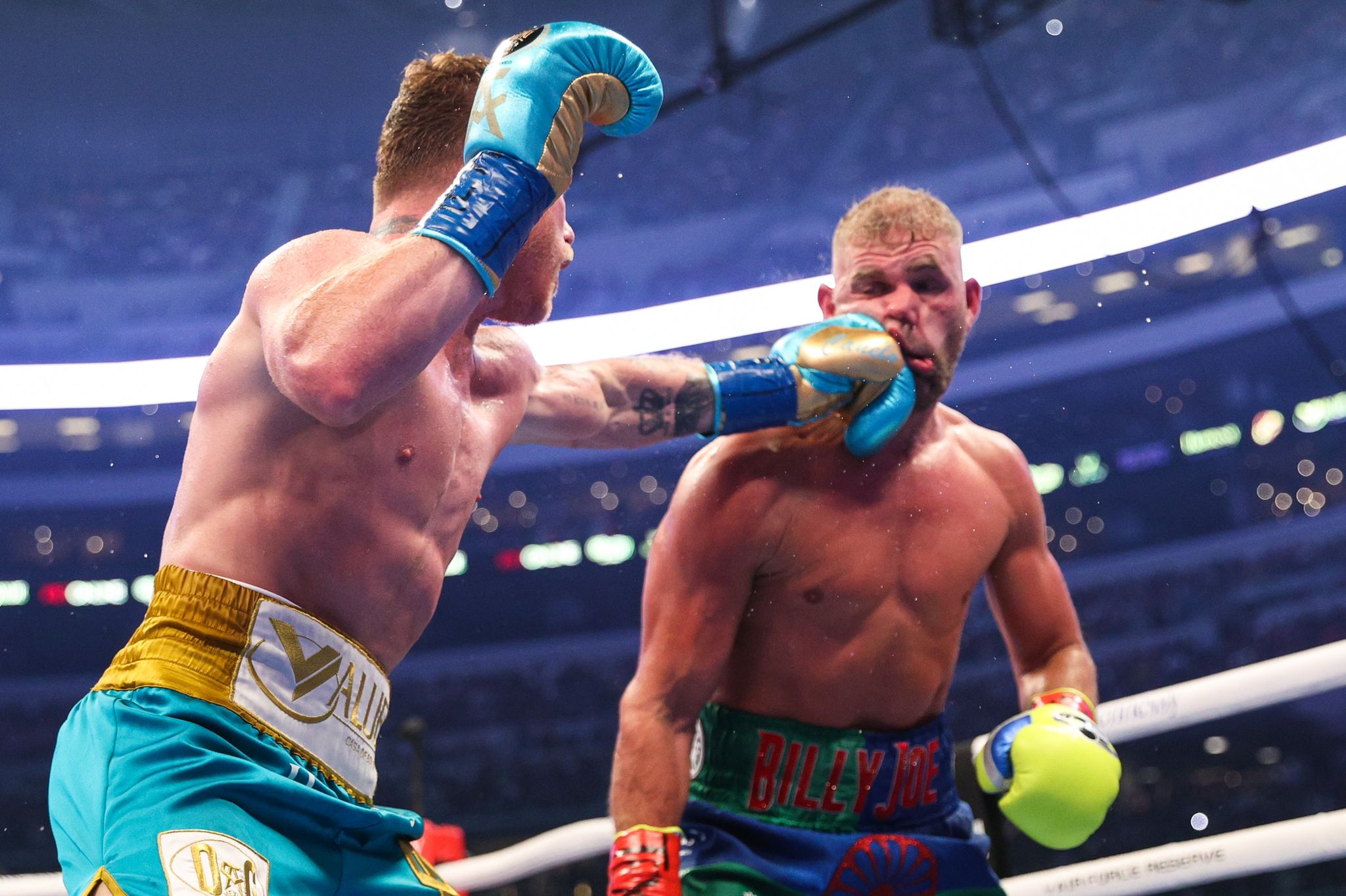 Canelo at the top of the 10 Pound -for- Pound