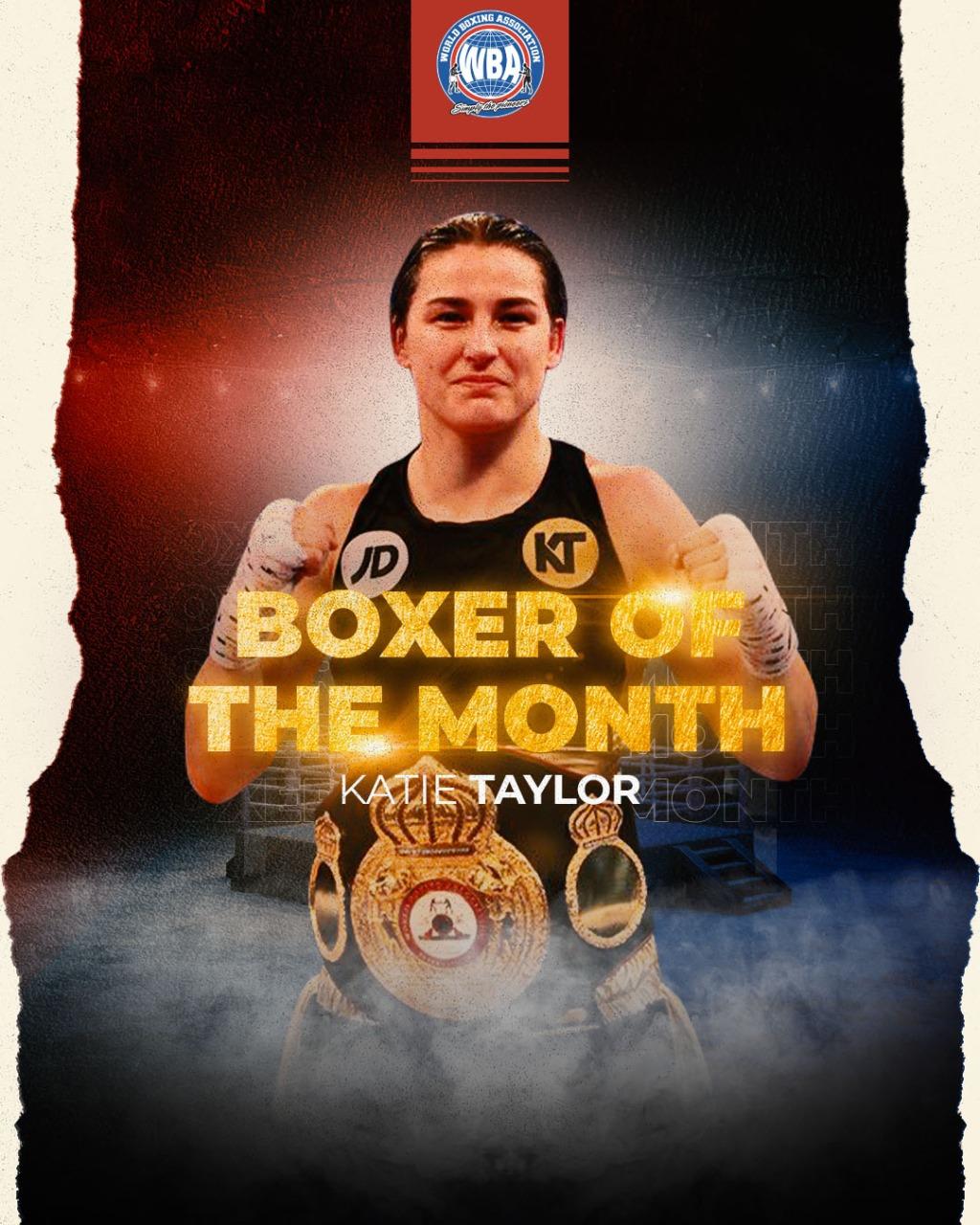Boxeadora AMB del Mes de mayo