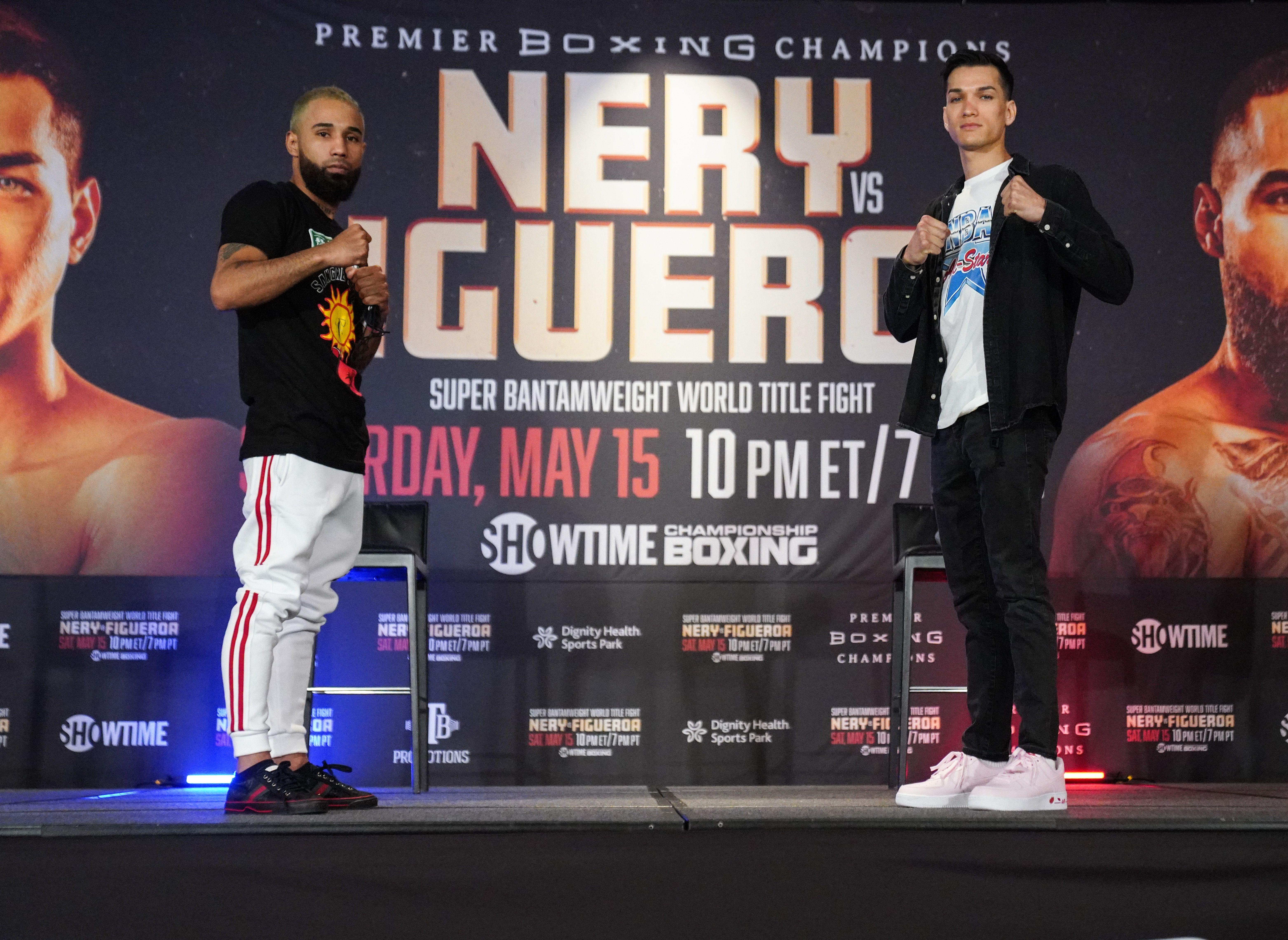Figueroa y Nery prometen un combate lleno de acción