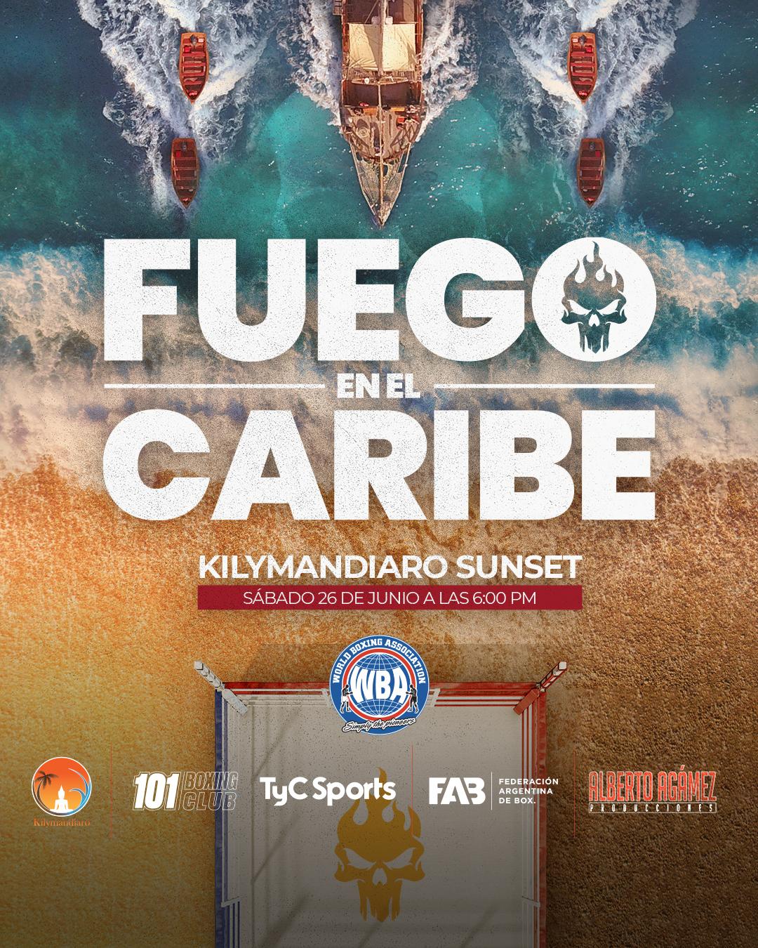 """Finol y Castillo disputarán faja AMB-Fedebol en """"Fuego en el Caribe"""""""