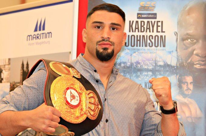 Kabayel and Johnson spoke to the press prior to their fight in Magdeburg on Saturday
