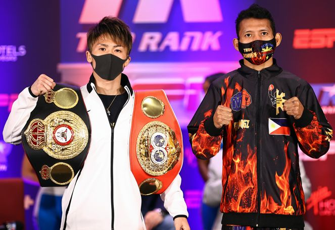 Inoue and Dasmarinas had their press conference in Las Vegas
