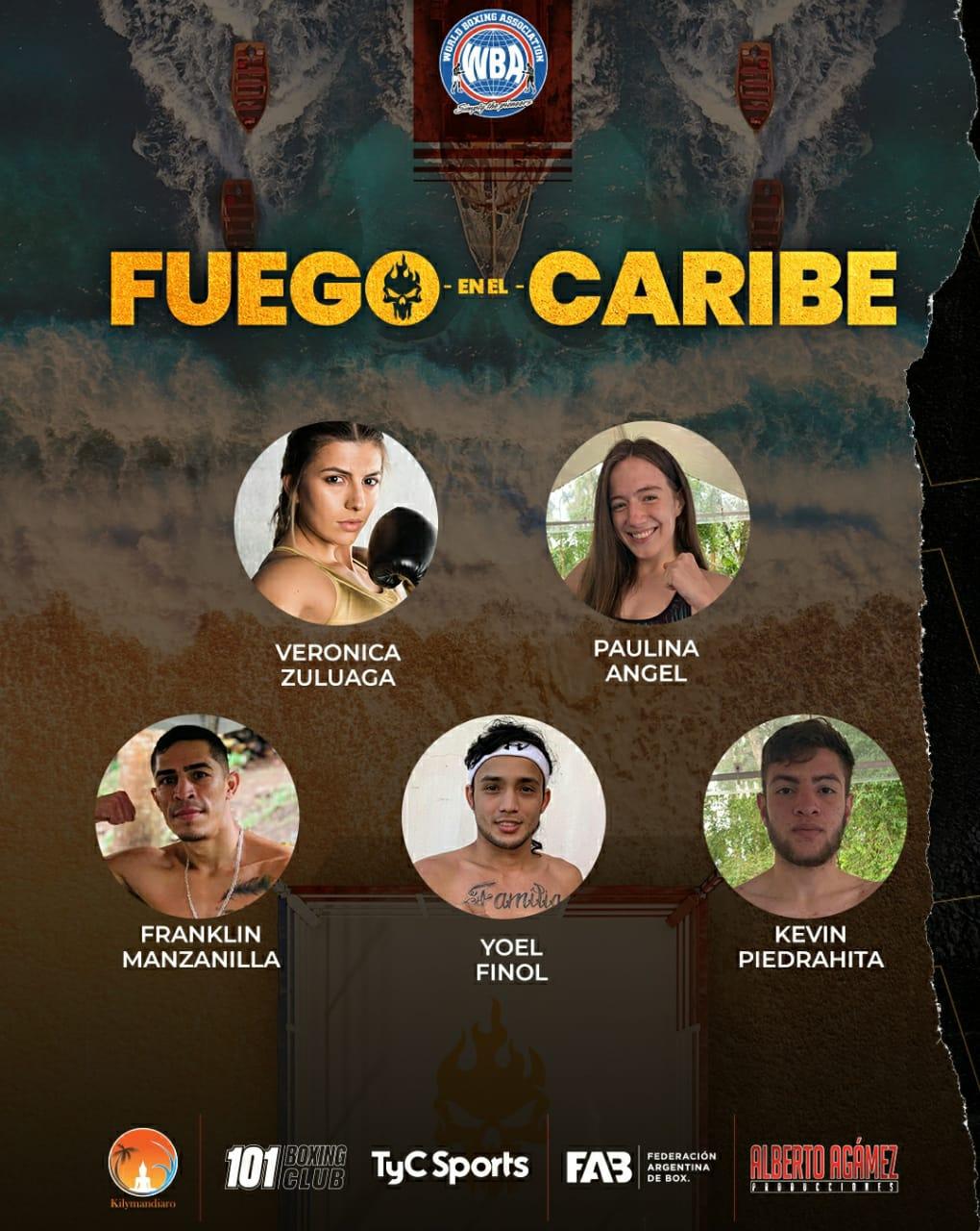 """Finol y Castillo listos para """"Fuego en el Caribe"""""""